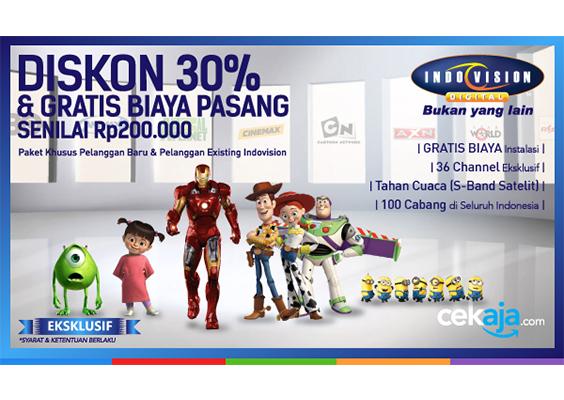 Promo Indovision - CekAja.com