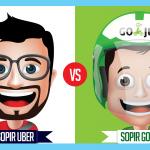Apa Bedanya Sopir Uber dan Sopir GO-JEK? Yuk Simak Infografis Berikut