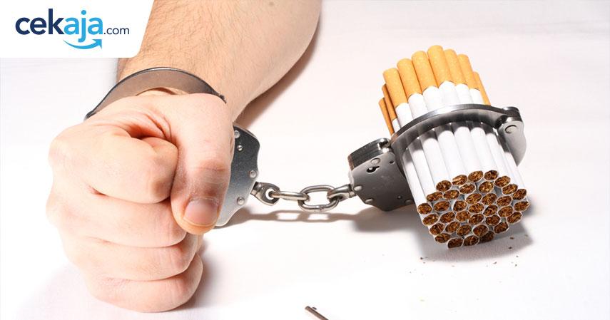 stop merokok_asuransi kesehatan - CekAja.com