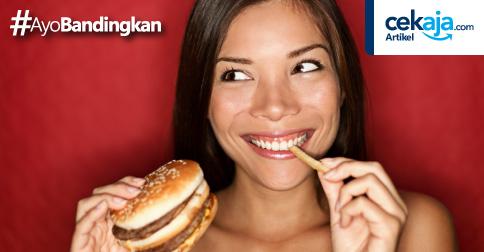 makanan tak sehat - CekAja.com