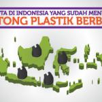 Harga Kantong Plastik Berbayar Beberapa Kota di Indonesia