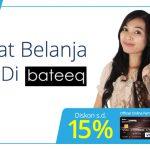 Diskon 15% Belanja di Bateeq dengan Kartu Kredit Danamon