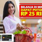 Belanja Hemat di Indomaret dengan Kartu Kredit Bukopin