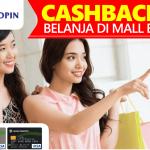 Promo Cashback 10% di Paris Van Java dengan Kartu Kredit Bukopin