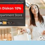 Belanja Hemat di Metro Department Store dengan Kartu Kredit Bank Mega