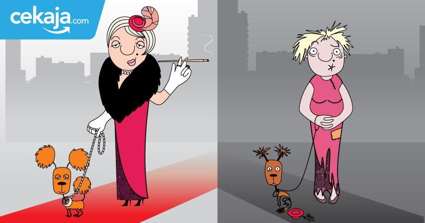 orang kaya orang miskin - CekAja.com