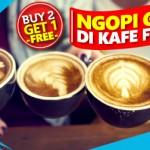 """Promo """"Buy 2 Get 1 Free"""" di Anomali Coffee dengan Kartu Kredit Citibank"""