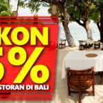 Promo Citibank: Diskon 15% Makan di Alila Bali