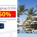 Diskon 50% Menginap di Trans Resort Bali dengan Kartu Kredit Bank Mega