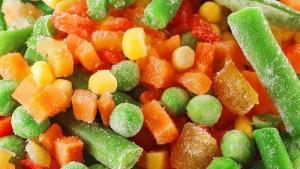 sayuran beku