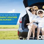 Upload Foto Mudik Lebaran, Dapatkan Voucher Belanja Gratis Jutaan Rupiah