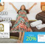 Diskon 20% Menginap di Sari Pan Pacific dengan Maybank White Card