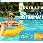 Promo Kartu Kredit BRI: Beli 1 Dapat 2 Tiket SnowBay