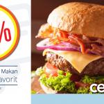 Promo Diskon Hingga 50% di Wendy's dengan Kartu Kredit Bank Mega