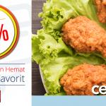 Diskon 20% di Chicken Story dengan Kartu Kredit UOB