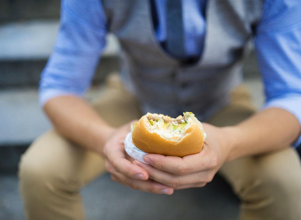 man-burger