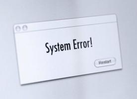 sistem eror