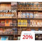 Promo Diskon 20% di Books & Beyond dengan Kartu Kredit Danamon