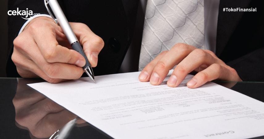 kontrak kerja - CekAja.com