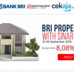 Kesempatan Berburu Rumah Idaman di BRI Property Expo Bersama Sinarmas Land