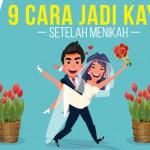 9 Cara Jadi Kaya Setelah Menikah