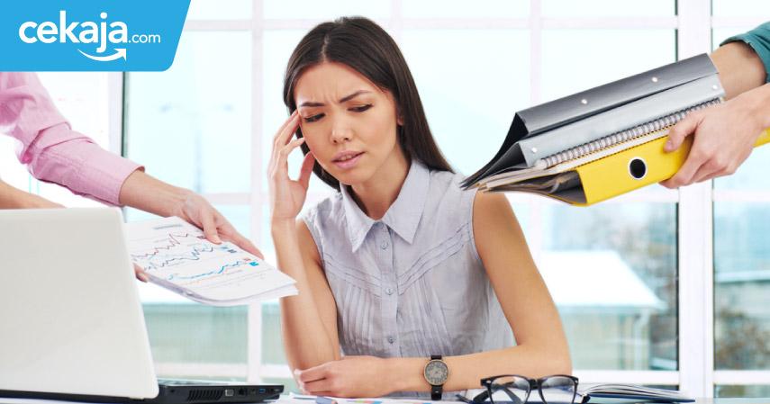 stres di kantor - CekAja.com
