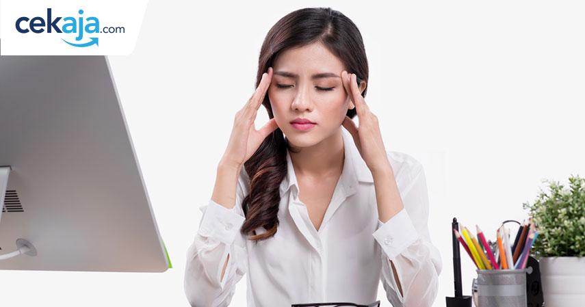 stres kerja_asuransi kesehatan - CekAja.com