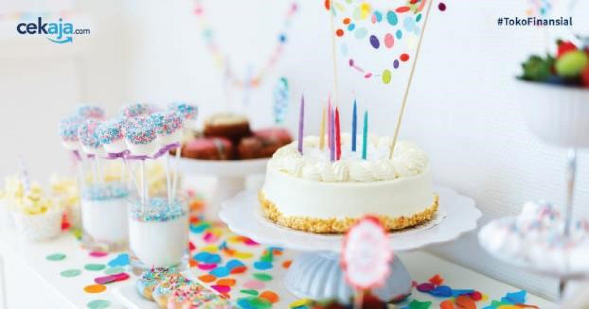 Dekorasi Ulang Tahun Cekaja Bayi Makan Es Krim