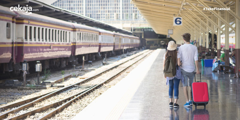 Stasiun Kereta Mudik - CekAja