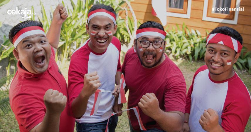 Indonesia Semangat Optimistis 17 Agustus - CekAja