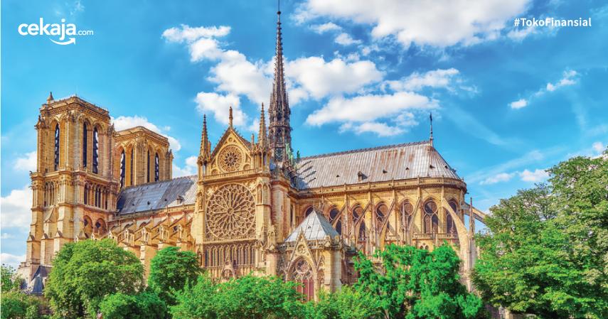 Katedral Notre Dame Terbakar, Ini Fakta-Faktanya